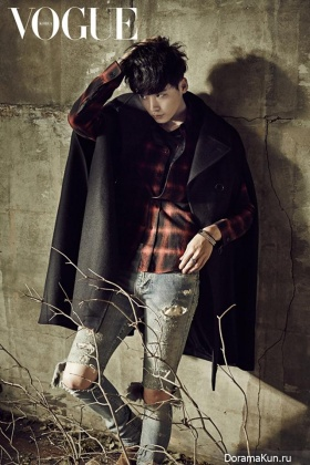 Lee Jong Suk для Vogue Korea October 2013 Extra