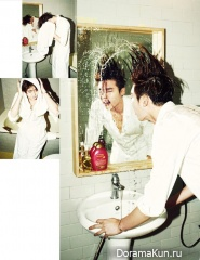 Lee Jong Suk для W Korea December 2013 Extra
