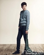 Lee Jung Jin для InStyle February 2013