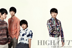 Siwan, Yeo Jin Goo, Lee Won Geun, Lee Min Ho для High Cut Vol. 70