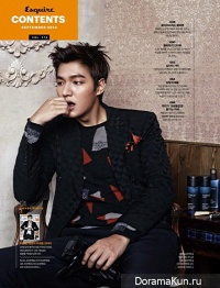 Lee Min Ho для Esquire Korea September 2013 Extra 3