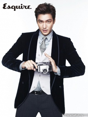 Lee Min Ho для Esquire Korea September 2013