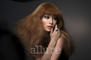 Lee Min Jung для Allure Korea November 2010