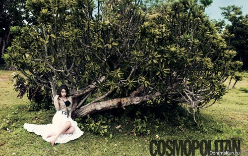 Lee Min Jung, Song Ji Hyo для Cosmopolitan Korea April 2012