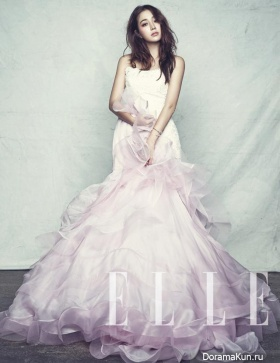 Lee Min Jung для Elle Korea September 2013