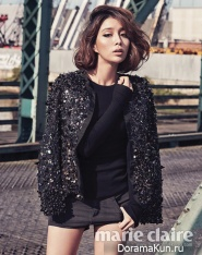 Lee Min Jung для Marie Claire October 2012 Extra