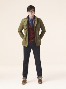 Gong Yoo, Lee Min Jung для Mindbridge Fall 2011 Catalogue
