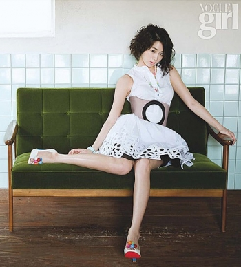 Lee Min Jung для Vogue Girl Korea