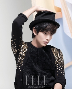 Lee Min Ki для Elle Girl Korea November 2011