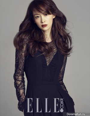 Lee Na Young для Elle Korea September 2013 Extra
