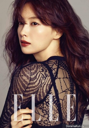 Lee Na Young для Elle Korea September 2013