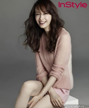Lee Na Young для InStyle Korea September 2013