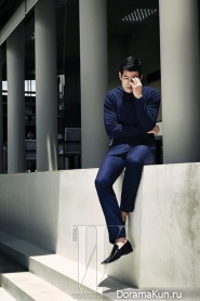 Lee Sang Yoon для W Korea May 2013