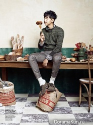 Lee Seung Gi для CeCi Korea October 2013 Extra 2