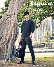 Lee Seung Gi для Esquire Korea August 2013 Extra