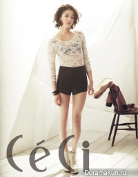 Lee Si Young для CeCi February 2013