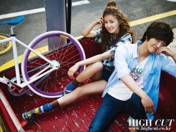 Lee Si Young, Nam Goong Min для High Cut Vol. 28