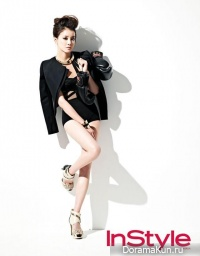 Lee Si Young для InStyle February 2013