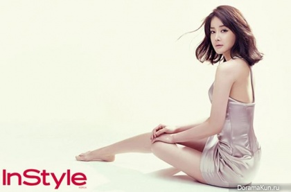 Lee Si Young для InStyle Korea September 2013