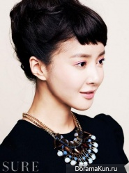 Lee Si Young для SURE February 2013