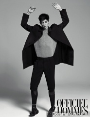Cole and Lee Soo Hyuk для L'Officiel Hommes Korea 2011