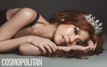 Lee Yoon Ji для Cosmopolitan Korea July 2012