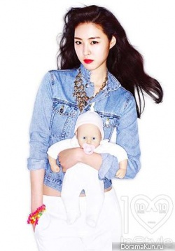 Lee Yeon Hee для InStyle March 2013
