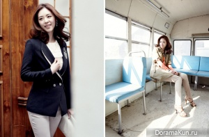 Lee Yeon Hee для Joinus Spring Catalog 2012