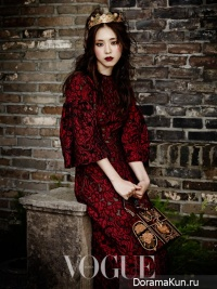 Lee Yeon Hee для Vogue Korea September 2013