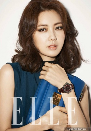 Lee Yo Won для Elle Korea August 2013 Extra