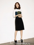 Lee Yo Won для Elle Korea August 2013