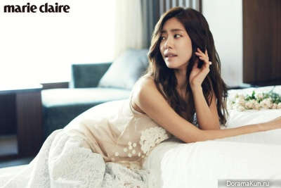 Lee Yoon Ji для Marie Claire March 2013