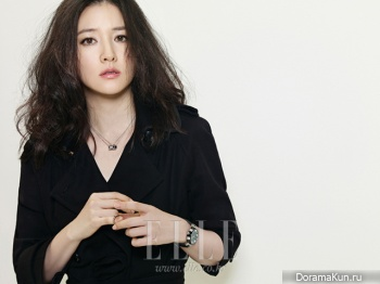 Lee Young Ae для Elle November 2012 Extra