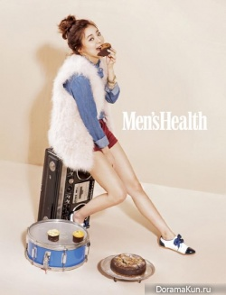Lee Young Eun для Men's Health January 2013
