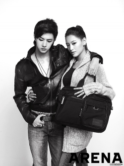 MBLAQ, Rainbow's Jaekyung для ARENA Homme Plus Korea November 2010