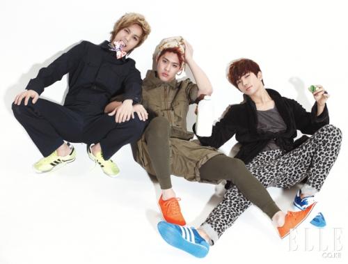 MBLAQ для Elle Girl Korea February 2011