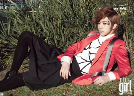 MBLAQ's Thunder для Elle Girl Korea March 2010