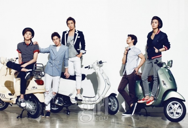 MBLAQ для Vogue Girl Korea June 2010