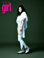 Min Hyo Rin для Elle Girl Korea September 2011