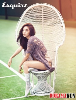 Min Hyo Rin для Esquire Korea August 2012