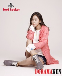 Min Hyo Rin для Foot Locker 2012 Ad Campaigns