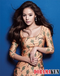 Min Hyo Rin для Marie Claire Korea August 2012