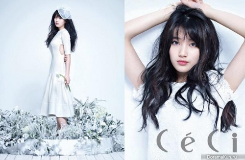 Suzy (Miss A) для CeCi April 2013 Extra