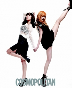 Miss A для Cosmopolitan Korea September 2011