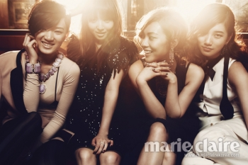 Miss A для Marie Claire Korea June 2012