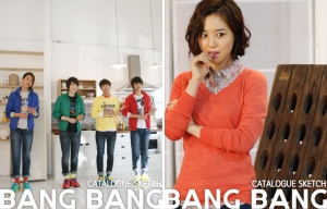Moon Chae Won, CN Blue для BANG BANG Catalog 2012