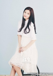 Moon Ga Young для IZE Magazine April 2014