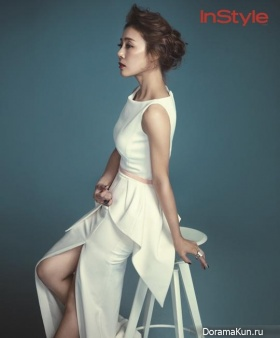 Moon Jung Hee для InStyle Korea September 2013
