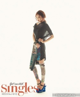 NS Yoon-G для Singles Korea October 2013