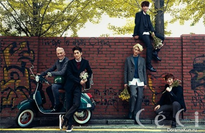 NU'EST для CeCi Korea October 2013
